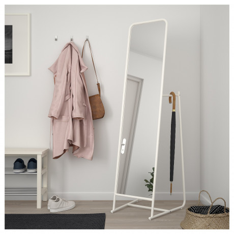 Зеркало напольное КНАППЕР белый фото 1